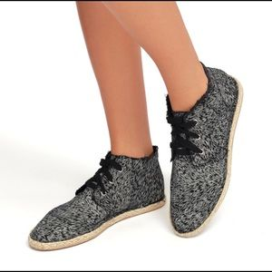 Shoes - Canvas Espadrilles
